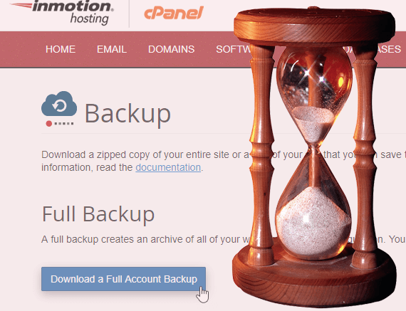 Why You Need to Backup Your Site Now
