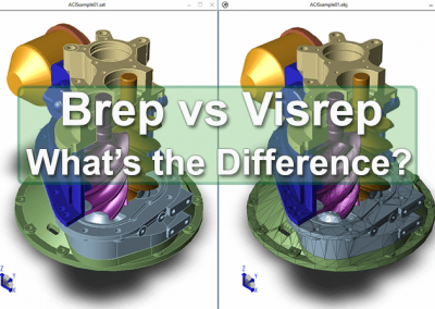 Brep vs Visrep - TransMagic